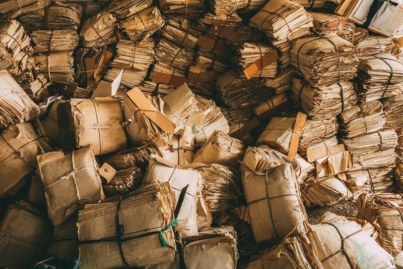 Uskladňovat papírové krabice se vyplatí …
